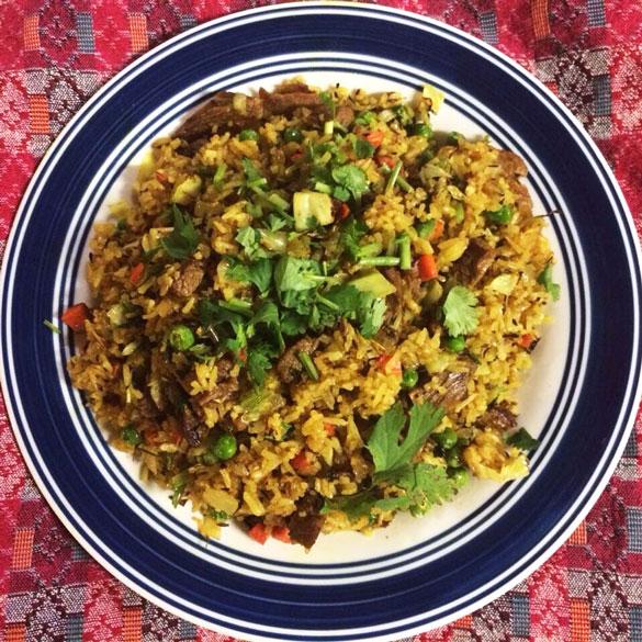 Bhuteko Bhaat (Rice)