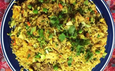 House Special Bhaat (Rice) Bhuteko